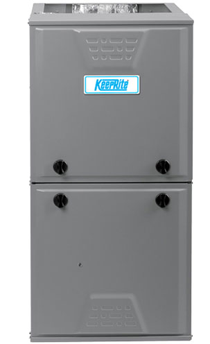 Grey KeepRite ProComfort furnace unit