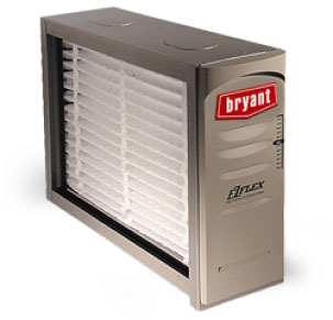 Bryant cabinet air filtration unit